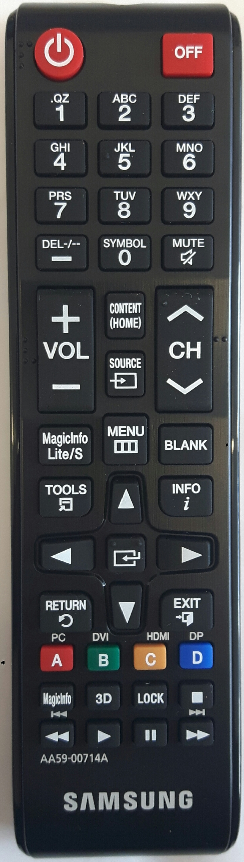 SAMSUNG AA59-00714A Remote Control Original