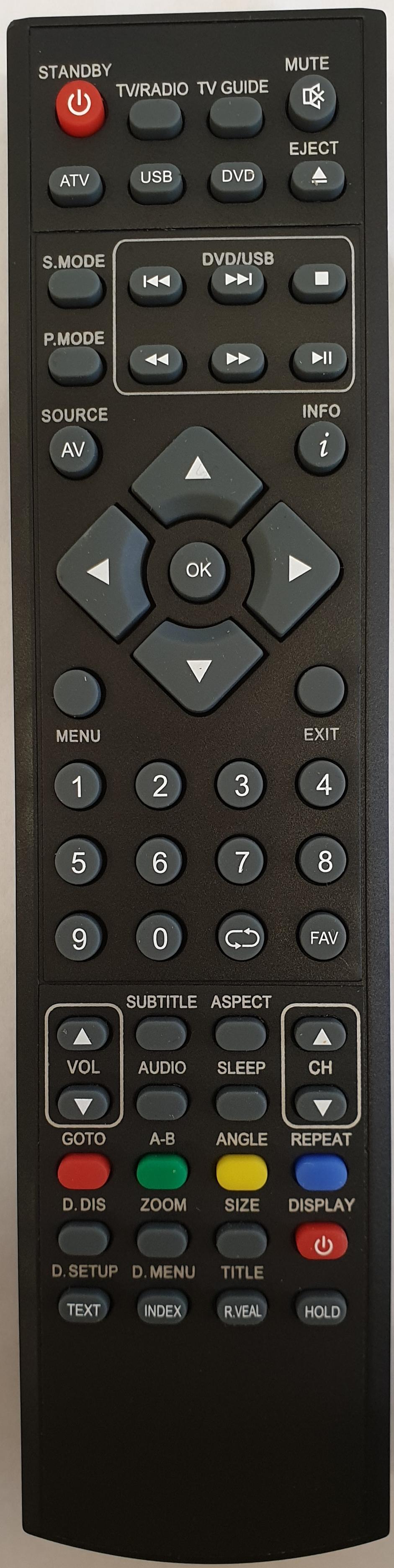 TECHNIKA LED22-248COM Remote Control Original