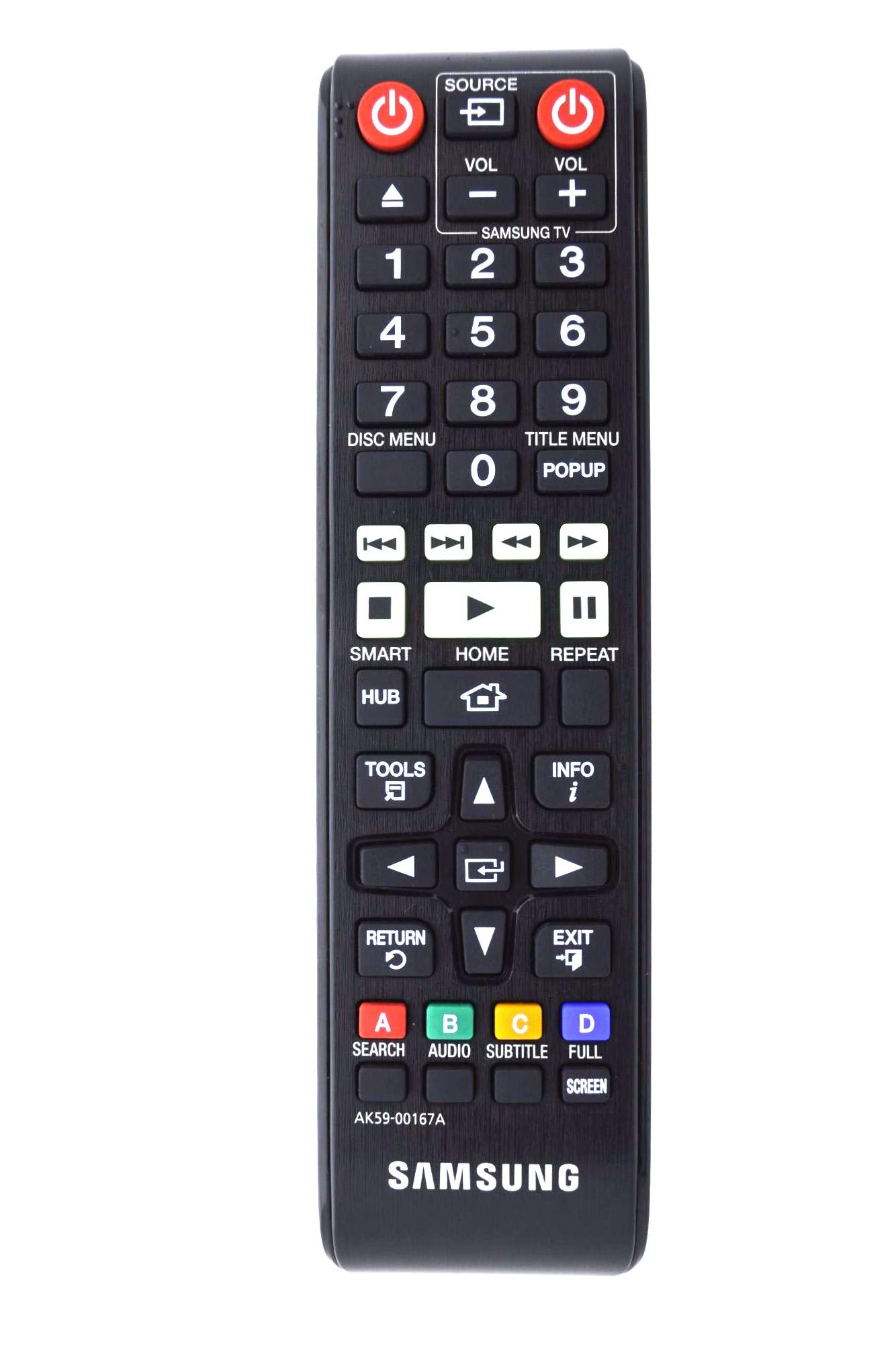 SAMSUNG BDF6500 Remote Control Original