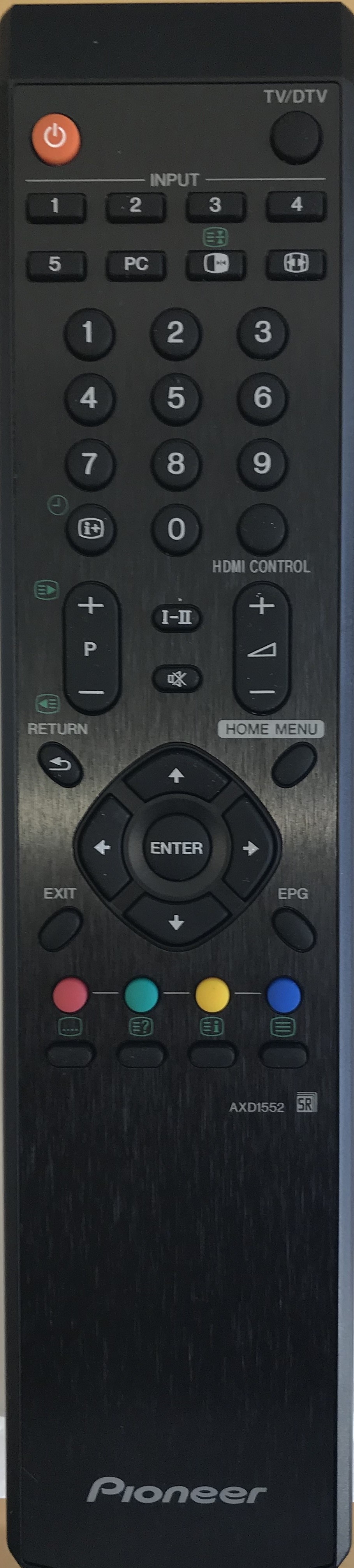 PIONEER AXD1552 Remote Control Original