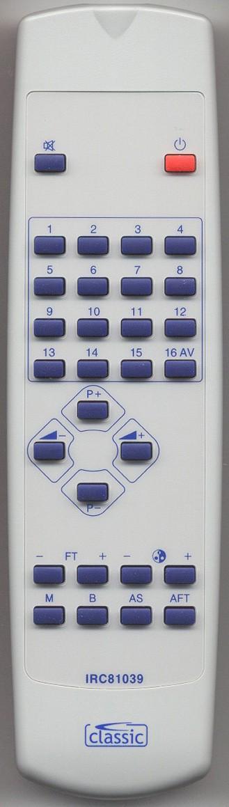 MATSUI HS 147704 Remote Control Alternative