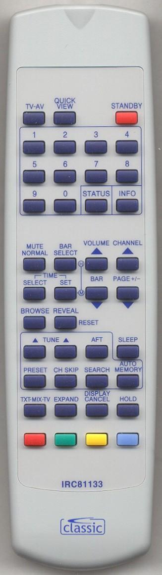MATSUI 2076R VERS.1 Remote Control