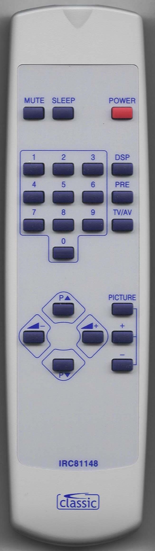 VIDEOCON 3603 R Remote Control