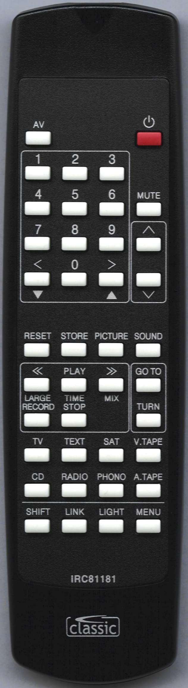 Bang & Olufsen 8007731 Remote Control