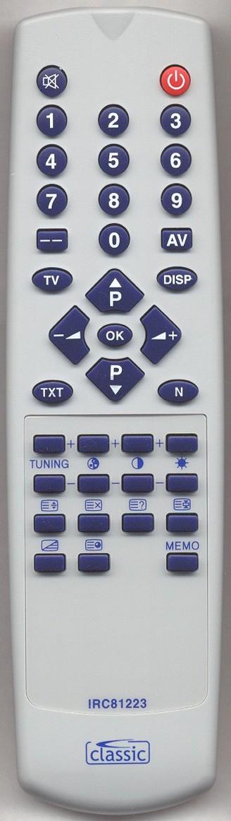 MATSUI 1580 Remote Control