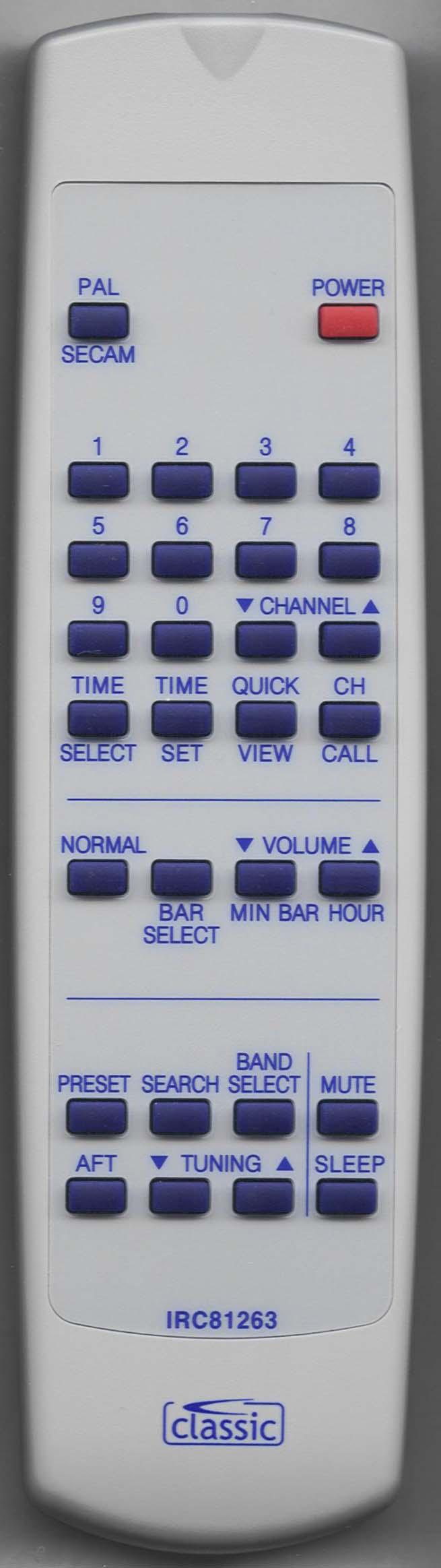 MATSUI 076G047240 Remote Control