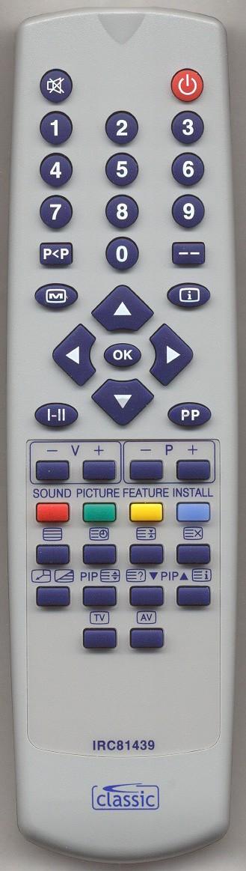 MATSUI 28WN21 Replacement Remote Control