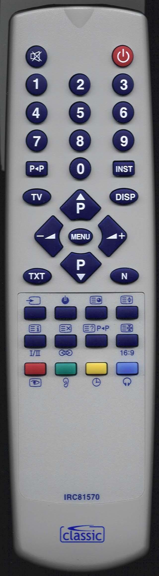 ORION 211 259 00 Remote Control