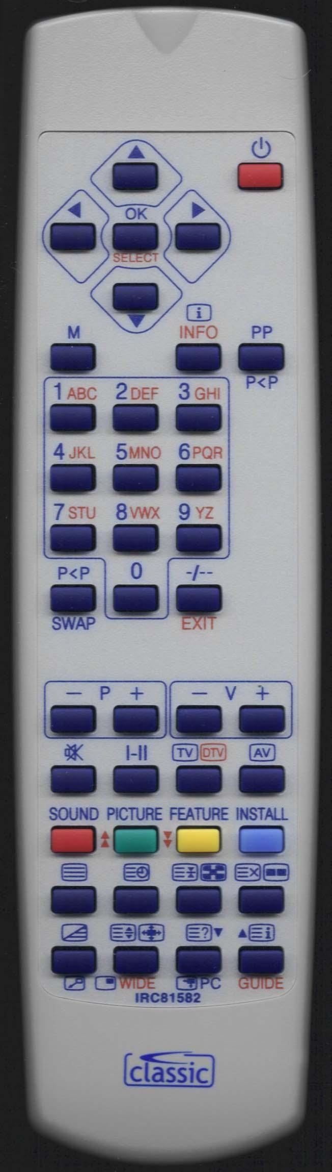 PROLINE LD2640HD Remote Control Alternative