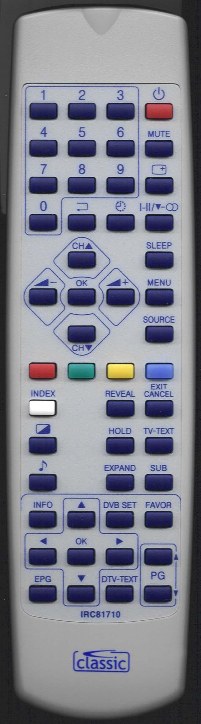 Cello LTV-0402 Remote Control