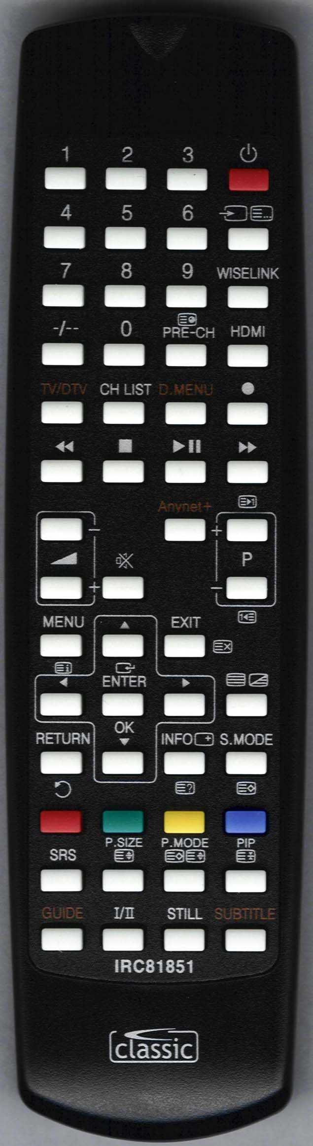 SAMSUNG BN59-00603A Remote Control Alternative