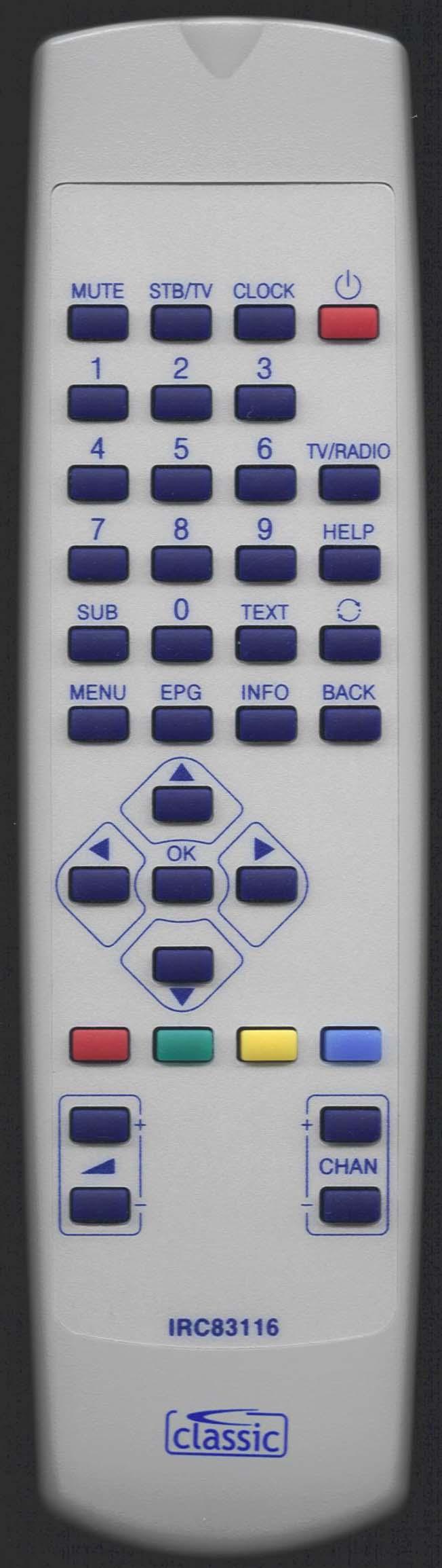 TVONICS RC 1463603/00 Remote Control Alternative