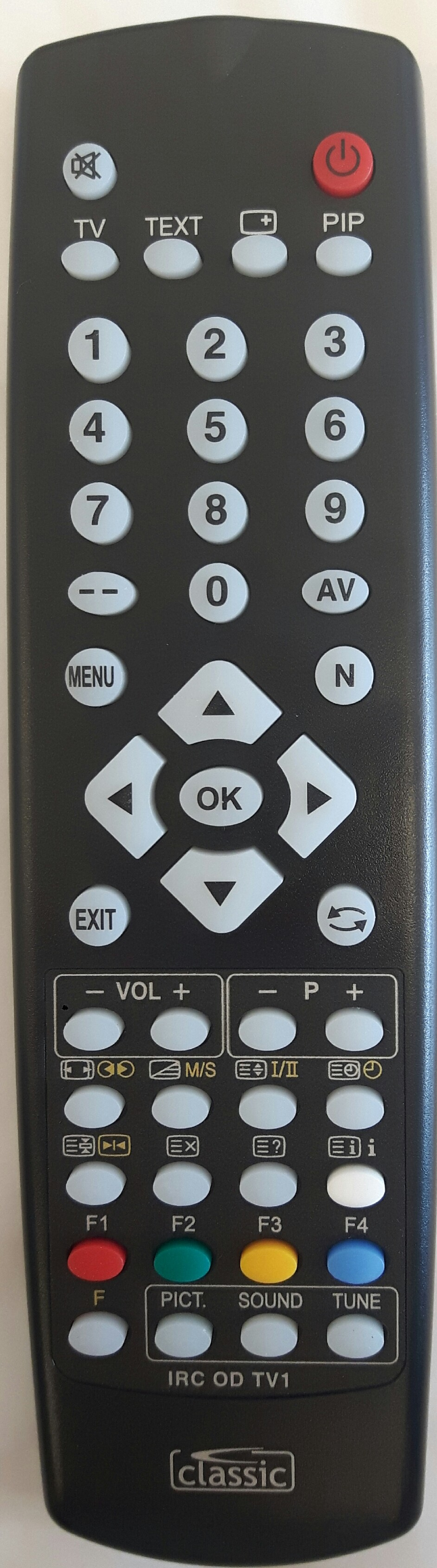MATSUI KK-Y304 Remote Control Alternative