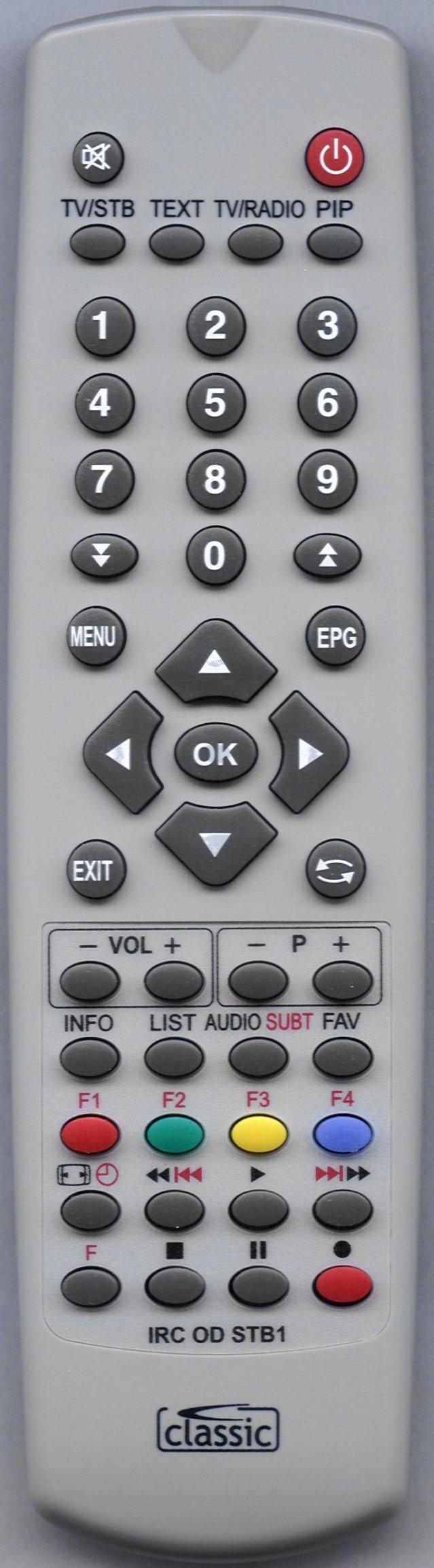 TOPFIELD TF5810PVRT Remote Control