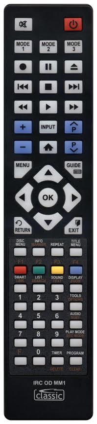 SAMSUNG DVD-SH893M Remote Control