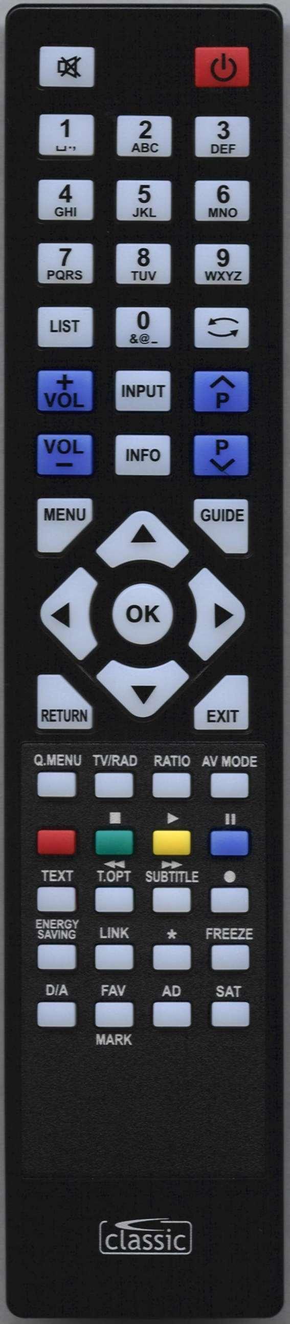 LG 32LH20 Remote Control