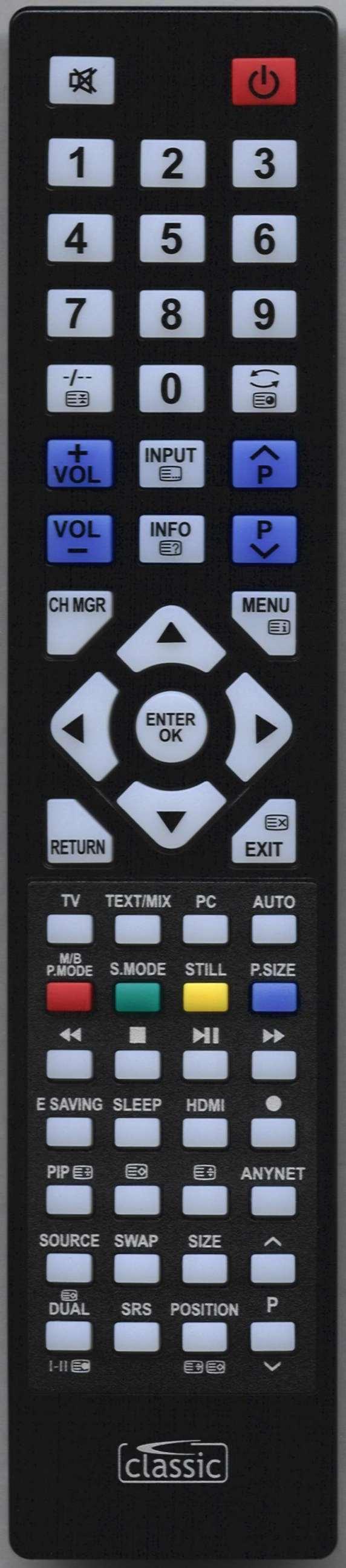 SAMSUNG 932MW Remote Control