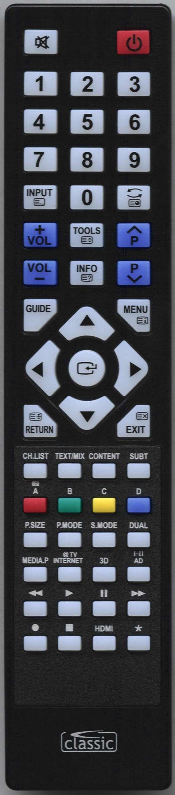 SAMSUNG LE32C530F1W Remote Control Alternative