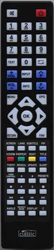 LUXOR RC3902 Remote Control Alternative