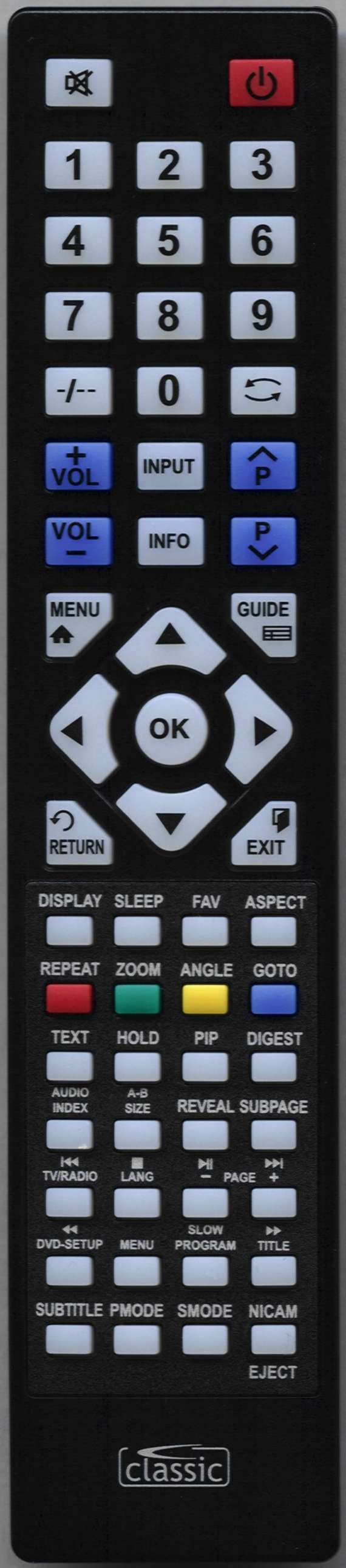 Baird JO32BAIRD Remote Control