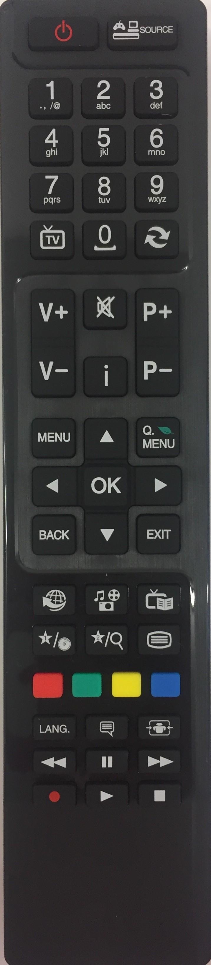 FINLUX 40F6073-D Remote Control Original