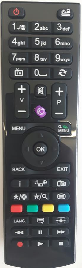 LUXOR LUX40914TVB Remote Control Original