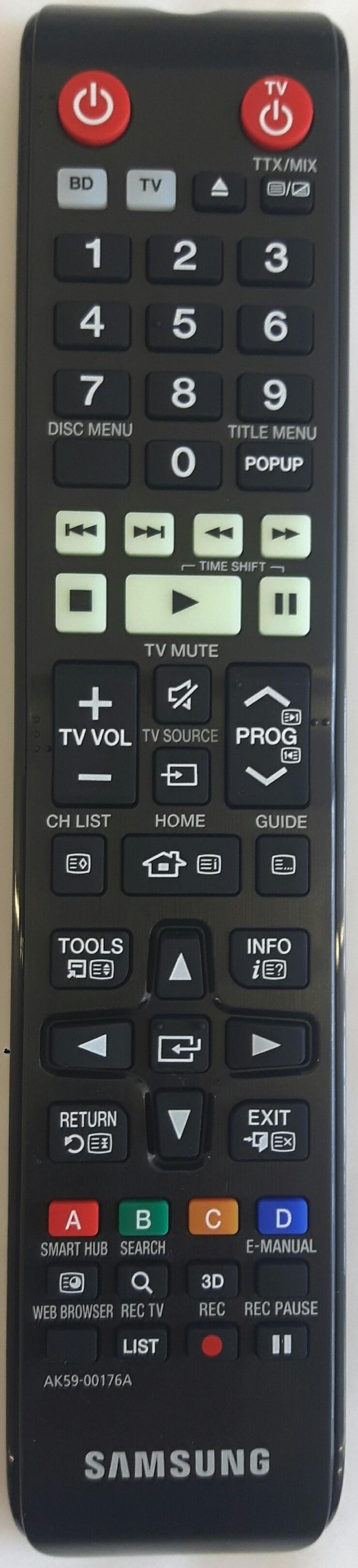 SAMSUNG BD-H8900M Remote Control Original