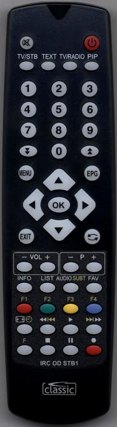 TOPFIELD TF5810 Remote Control