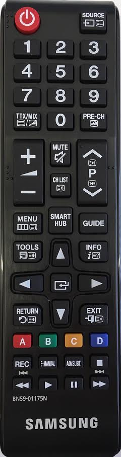 SAMSUNG UE40H6400AK Remote Control Original